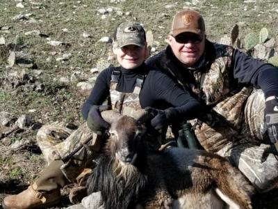 Couple Enjoying Ram Hunt